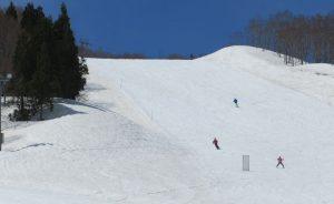 Skiers at Gala Yuzawa