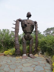 Robot soldier, Ghibli Museum