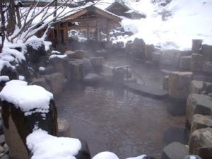 Takaragawa-onseninsnow