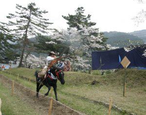 Yabusame at Tsuwano